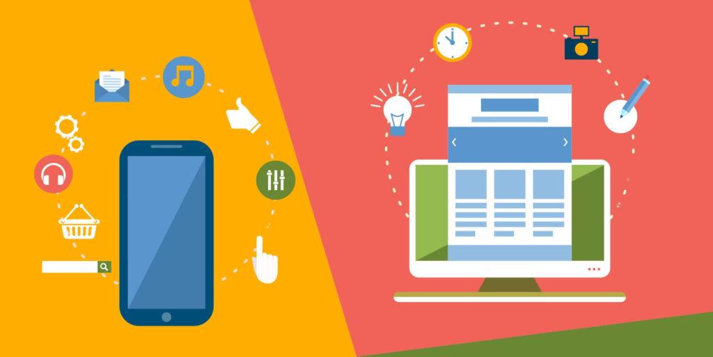 Mobile Apps Designs Vs Website Designs