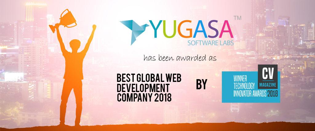 Yugasa : Best Global Web Development Company 2018 by CV MAGAZINE, UK