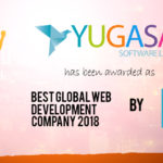 Yugasa : Best Global Web Development Company 2018 by CV MAGAZINE, UK