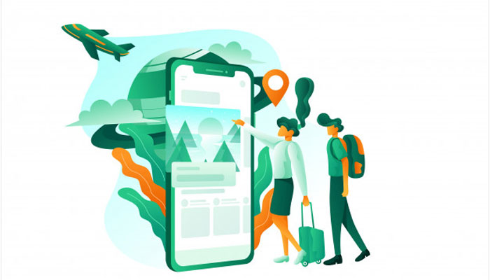 travel booking app users