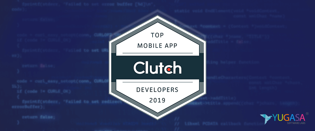 Clutch.co Announces Yugasa Software Labs as Top App Developer in Delhi, India