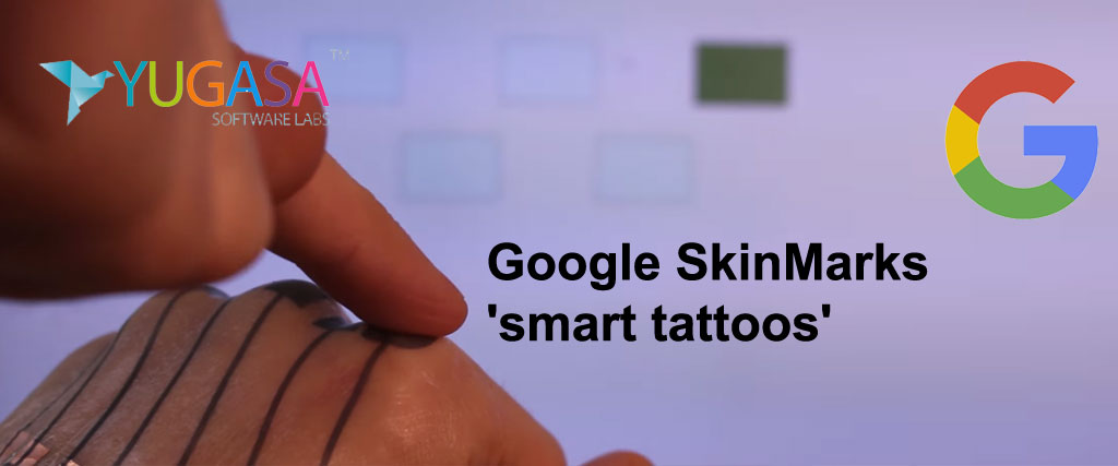 SkinMarks Google's project to turn your skin into a touchpad using 'smart tattoos'