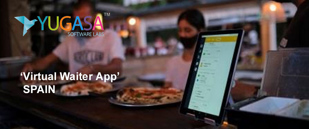 Pizza Menu placed on your phone screen to replace waiters via 'Virtual Waiter App'