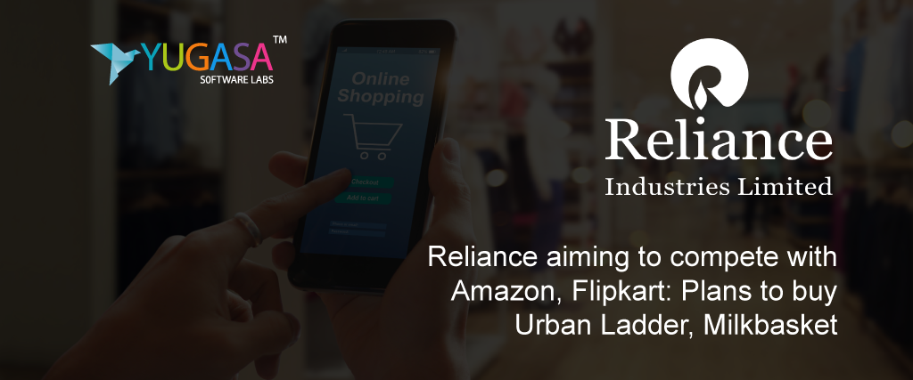 reliance aiming to compete with amazon flipkart plans to buy urban ladder milkbasket