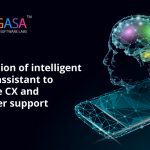 Integration of intelligent virtual assistant to enhance CX and customer support