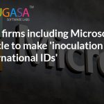 Tech firms including Microsoft, Oracle to make 'inoculation international IDs'