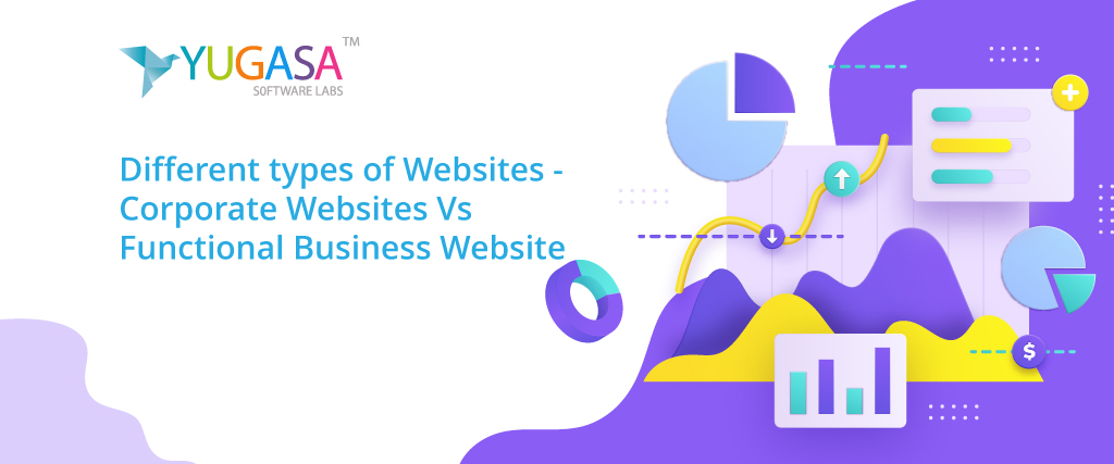 Different kinds of websites: Corporate websites Vs. Functional Business Websites