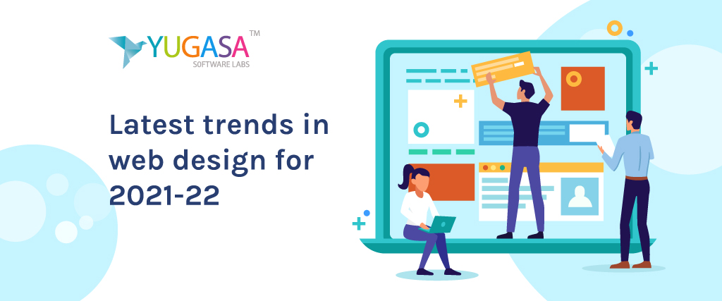 latest trends in web design for 2021