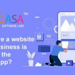Why have a website when business is good on the mobile app?